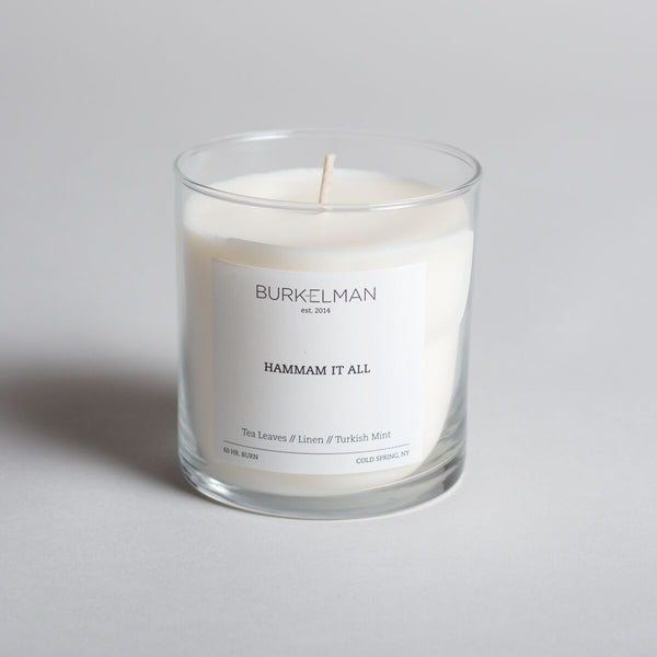 Burkleman Hammam It All Candle