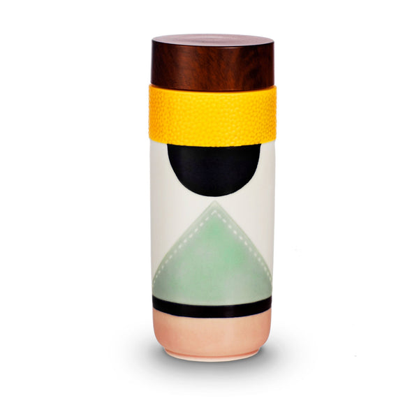 Luxury Artistic Ceramic Water Bottle/Tumblr