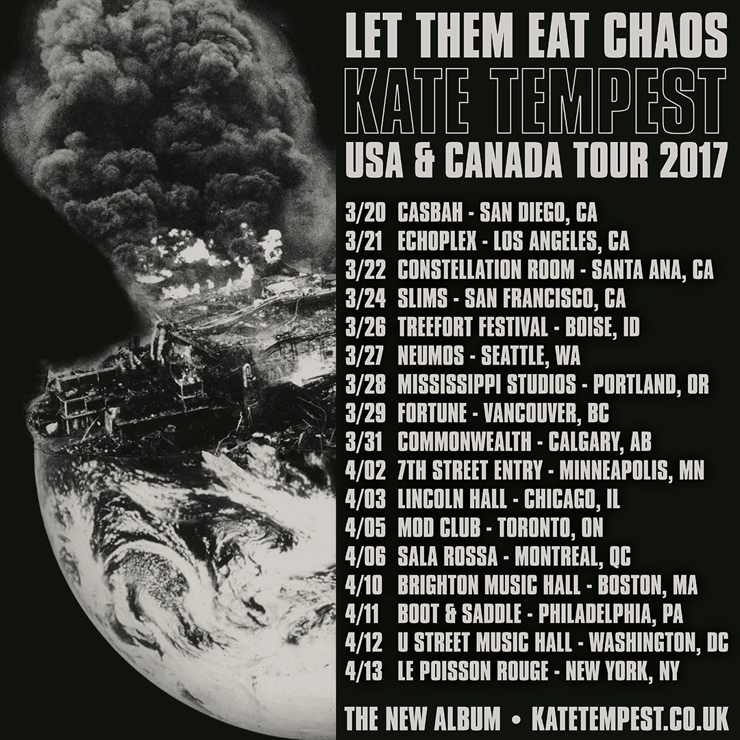 Kate Tempest US & Canada Tour