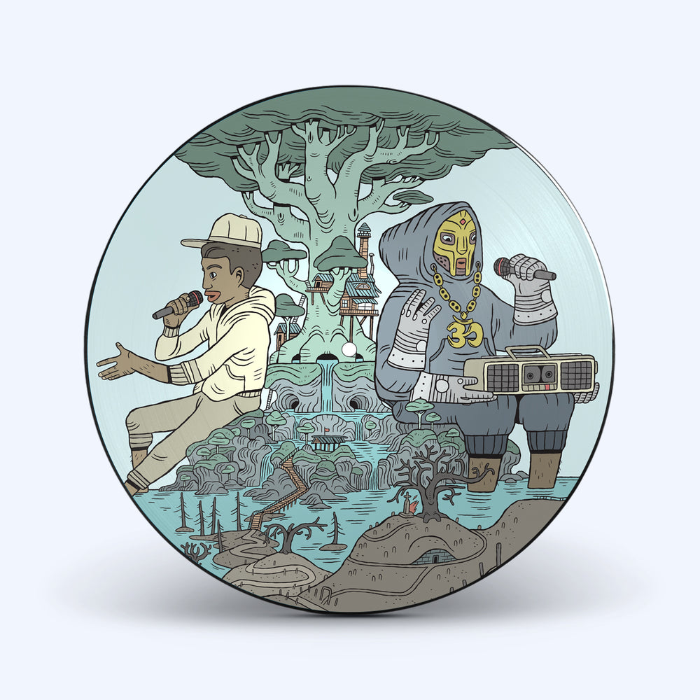 Pre-order: NEHRUVIANDOOM REDUX 5th Anniversary Picture Disc