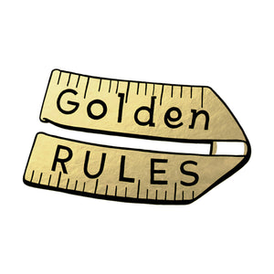 Golden Rules Logo T-Shirt