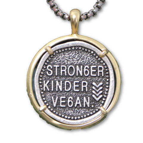 Vegan Necklace Gift For Guys
