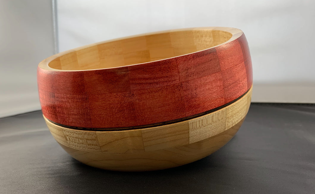 Bob Benson Red Banded bowl