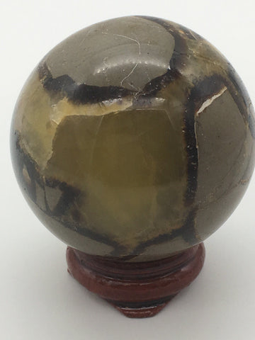 Septarian sphere - 101 Crystals