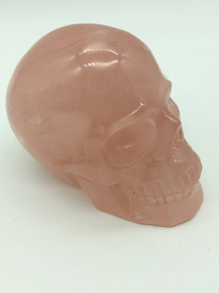 Rose quartz skull - 101 Crystals
