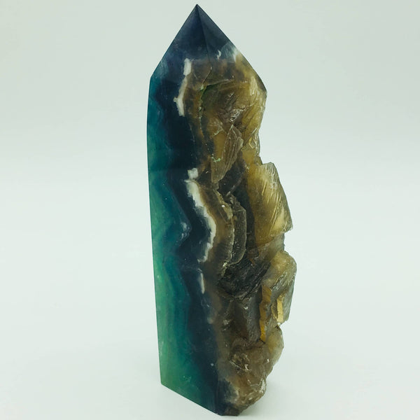 Raw rainbow fluorite - 101 Crystals