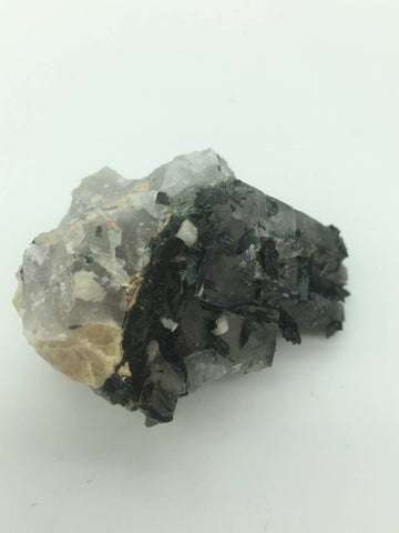 Smokey Quartz with aegerine - 101 Crystals