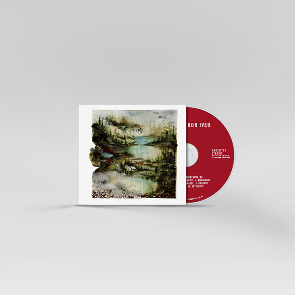 Bon Iver, Bon Iver CD (UK / EU)