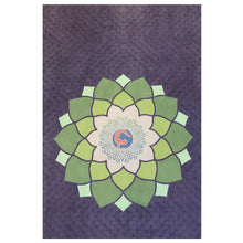 Load image into Gallery viewer, ALIGN WITH PEACE  Microfiber Suede Vegan Yoga Mat - Amethyst