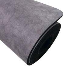 Load image into Gallery viewer, Best B Kind 2 Urth Logo Eco-Friendly Non-Toxic Microfiber Suede Yoga Mats Purple