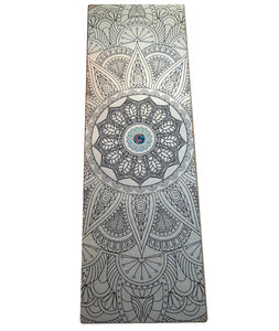 ENLIGHTENMENT  Raw Organic Jute Hemp Vegan Yoga Mat