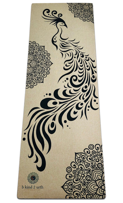Best Phoenix Design Natural Organic Jute Hemp Oatmeal Yoga Mats