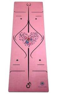 Best Eco-Friendly Non-Toxic Organic Yoga Mats Pink Color