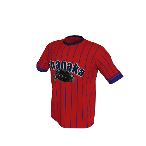 Baseball Men Top Tshirt Stripe Baseball. (x 1)