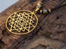 Load image into Gallery viewer, Sri Yantra Necklace