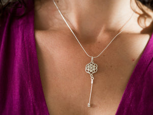 Beverly Hills Flower of Life Necklace