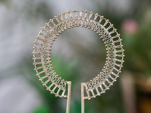 Load image into Gallery viewer, Silver Hair Stick - Ornament No. 2