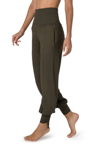 Pants for Women, Harem Pants, Yoga Leggings, Boho Pants, Loose Fit Pants, Wide Trousers, Grey Pants, Pants with Pockets, Balloon Pants.