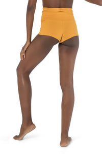 Shorts for Women, Yellow Cotton Shorts, Summer Pants, Basic Shorts, Yoga Shorts, Mini Shorts, Fitness Clothes, Women Tights, Dance Pants.