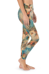 Leggings, Pants for Women, Activewear, Cotton Tights, Yoga Leggings, Women's Tights, Stretch Leggings, Festival Wear, Acrobatics, Acroyoga