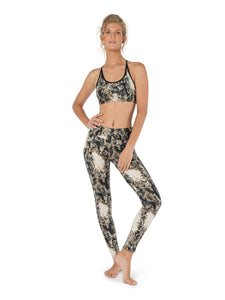 Top and Leggings, Activewear, Gym Set, Yoga Clothing, Women Fitness Leggings, Sports Bra, High Waist Leggings, Open Back Top, Set for Yoga.