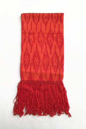 orange-scarf-ikat-macana-grape-apple-makikuna