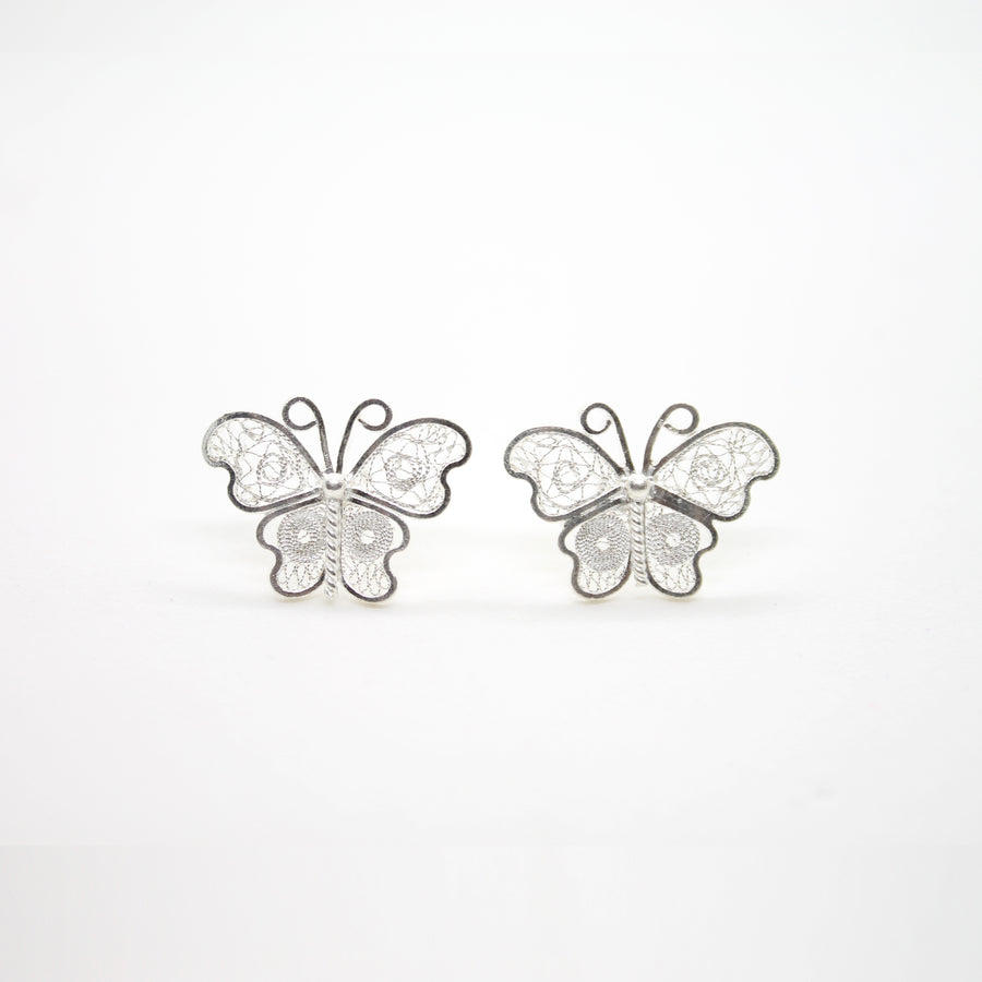 BUTTERFLY FILIGREE EARRING