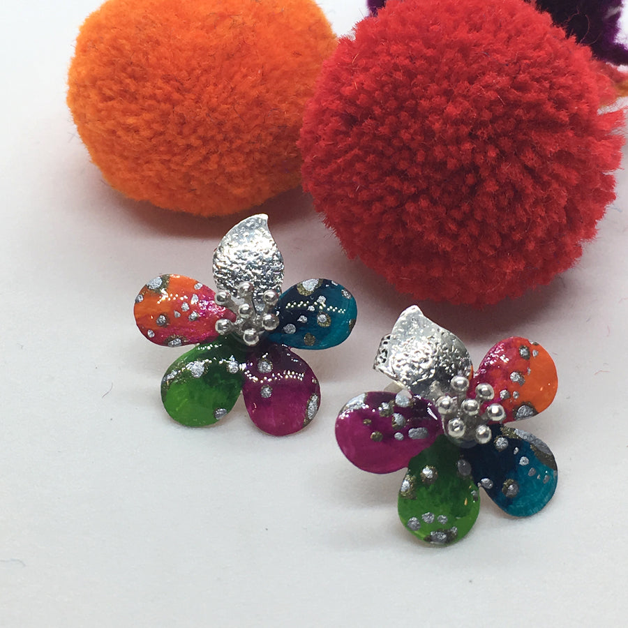 MULTICOLOR ALY EARRING