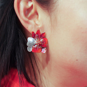 SUNNY ORCHID EARRING