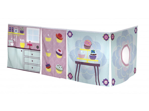Manis-h Play Curtain - Cup Cake