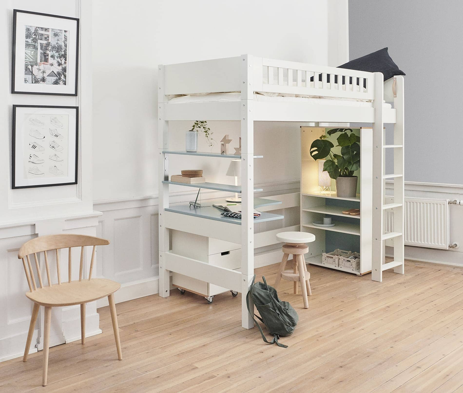 Manis-h High Loft Bed - GEFION