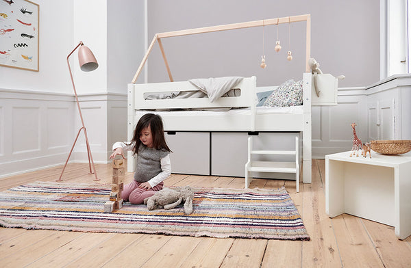 Manis-h Kid's Bed with High Drawers - NANNA