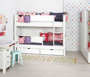 Manis-h Bunk Bed with extra safety rails - HODER