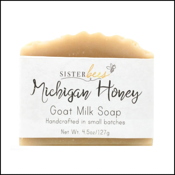 Michigan Honey Goats Milk Soap