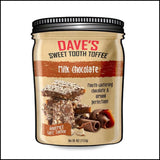 milk chocolate toffee Daves sweet tooth toffee
