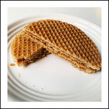 Dutch Carmel Stroopwafels