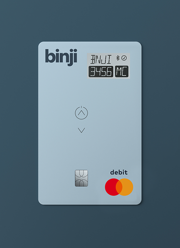 Binji Digital Display Mastercard