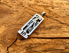 Personalized Sterling Silver Isis &  Eye Of Horus Cartouche Pendant
