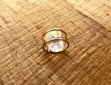 Personalized Cartouche Ring