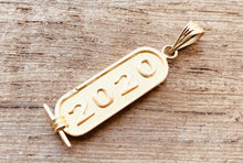 Egyptian 18k Solid Gold Personalized Customized 18K Gold Cartouche Up to (4 Characters)