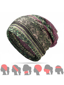 Womens Ethnic Cotton Hat - kattystory