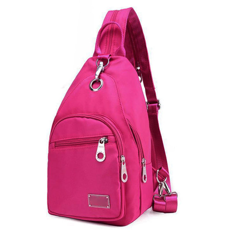 Waterproof Oxford Fabric Chest Upgrade High-End Daily Crossbody Backpack - kattystory