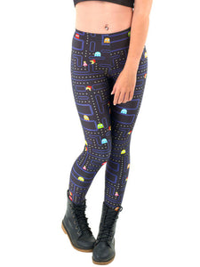 Women Space Print Pants Fitness Legging - kattystory