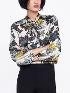 Casual Shift Floral Printed Shirt