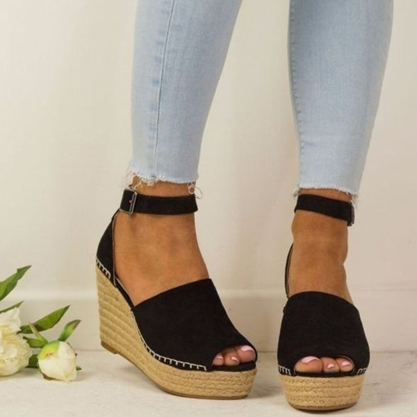 9e37f73867e Women Espadrilles Daily Nubuck Sandals Creepers Wedges – kattystory