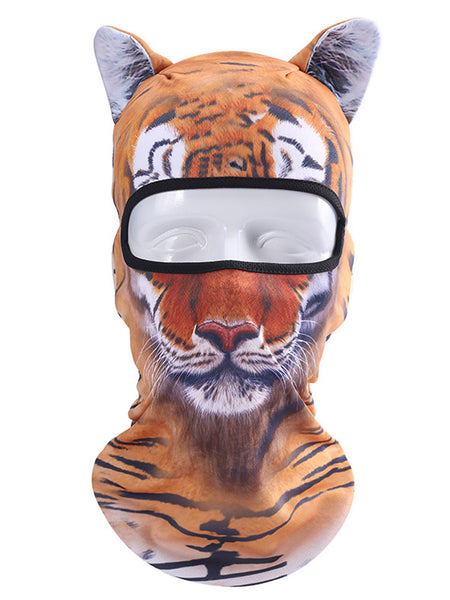 All Season 3D Animal Printed Ski Mask Hat