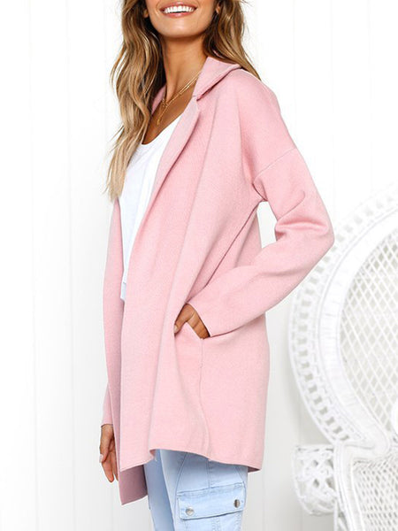 Casual Shawl Collar Coat