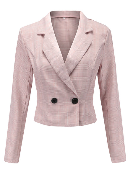 Long Sleeve Elegant Women's Fall/Autumn Blazer - kattystory