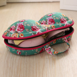 Portable Travel Underwear Bra Storage Bag Printed Storage Box - kattystory