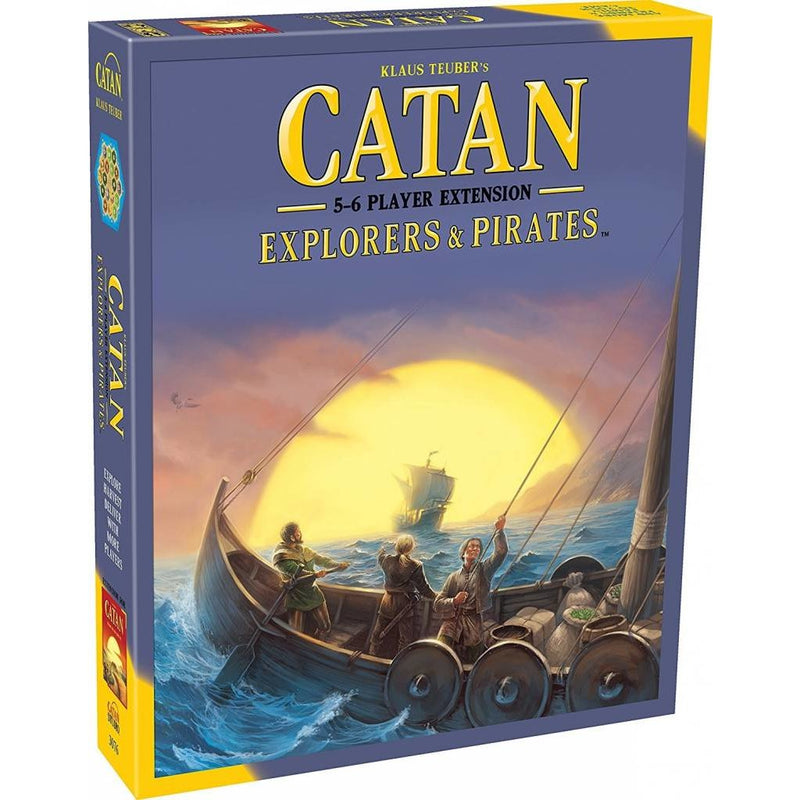 Catan 5-6 Player Extension Explorers & Pirates (Sale Price at Checkout)